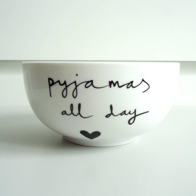 pyjamas all day: styl , w kategorii  zaprojektowany przez My Mug Company,Skandynawski