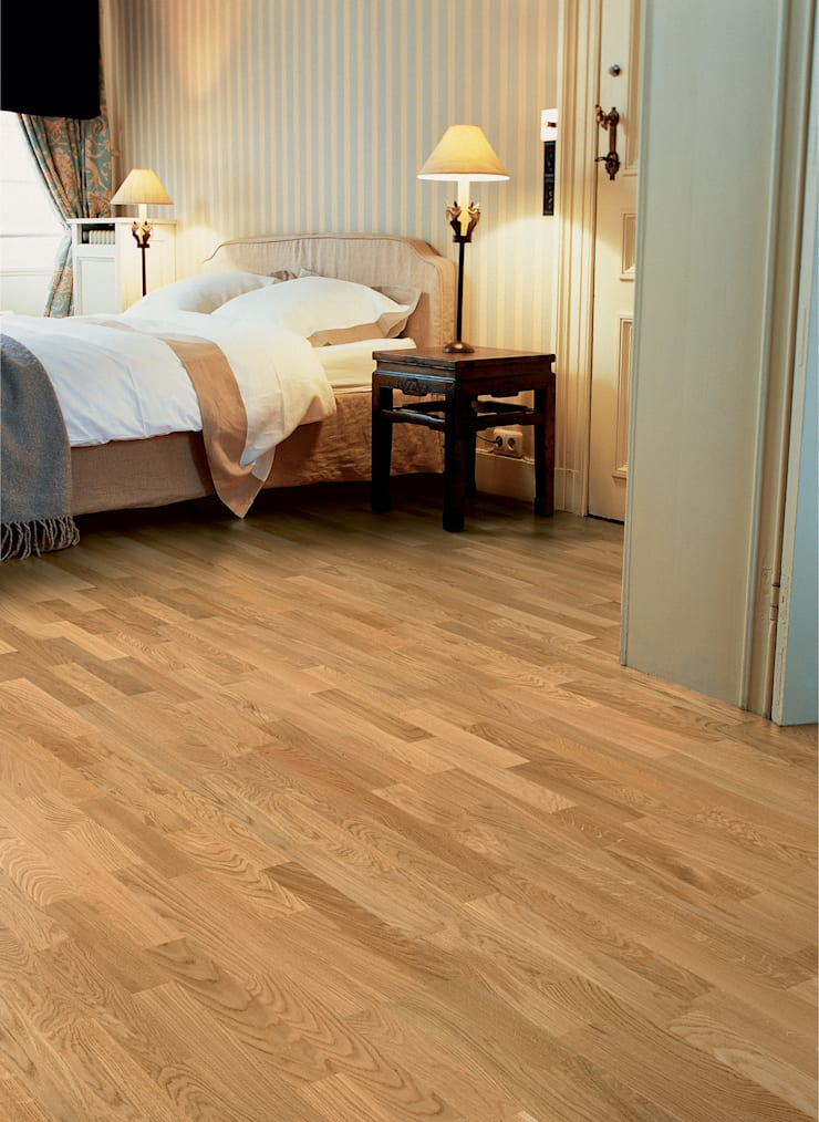 Oak Natural Matt:  Walls & flooring by Quick-Step