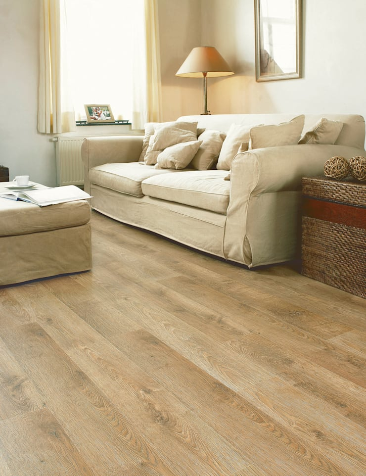 Old Oak Matt Oiled:  Walls & flooring by Quick-Step