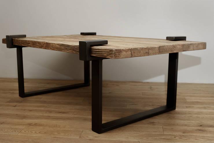 Stół Richmond 2: styl , w kategorii Salon zaprojektowany przez Metal Story
