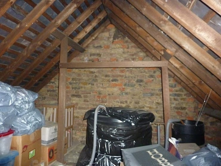 Before loft conversion :   by A1 Lofts and Extensions