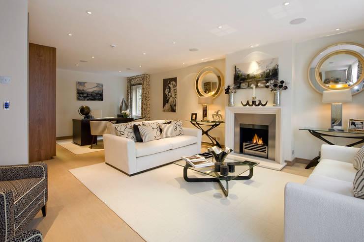 RBD Architecture & Interiors:  tarz Oturma Odası
