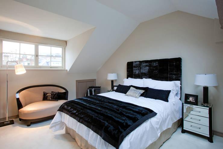 Top Floor Bedroom:  Bedroom by RBD Architecture & Interiors