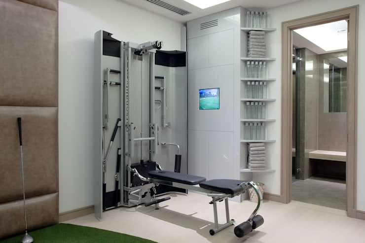 modern Gym by RBD Architecture & Interiors