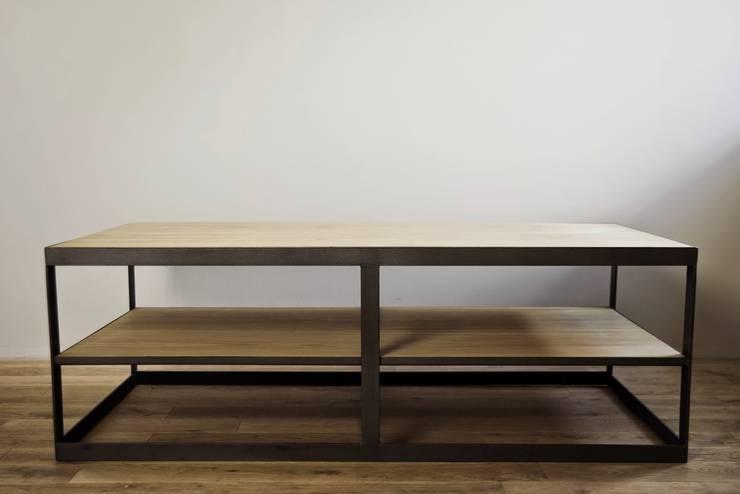 Stół Orlando: styl , w kategorii  zaprojektowany przez Metal Story,Industrialny