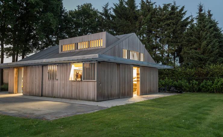 Villa H:  Garten von Coenen Sättele Architecten