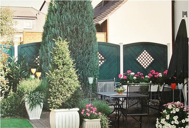 Sichtschutz Am Haus Und Im Garten Von Bego Holz Und Stahl Homify