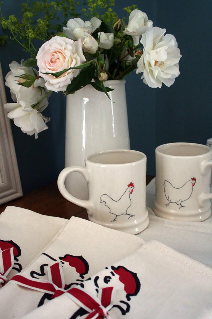 Chicken Mugs:  Kitchen by Cluck Cluck!