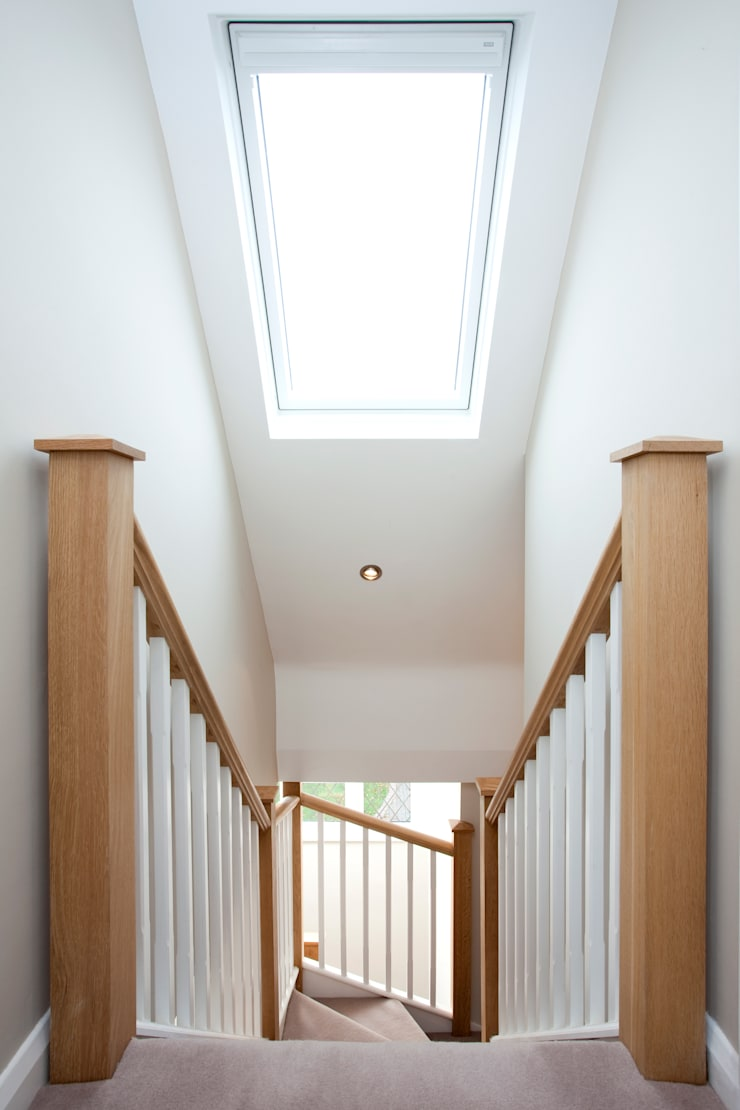 Velux over stairs :  Windows & doors  by A1 Lofts and Extensions