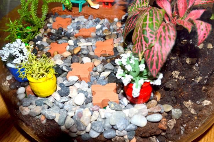 Bahçehane – OKUMA BAHÇESİ:  tarz Ev İçi