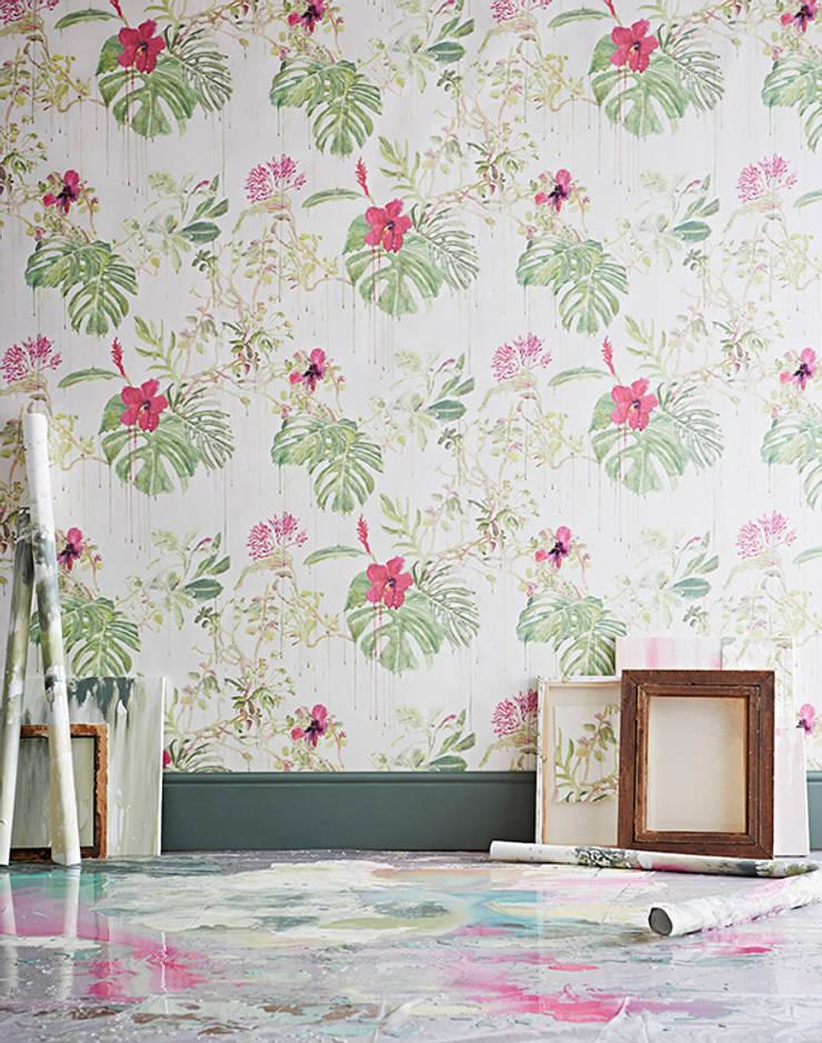 Spring Wild Rain:  Walls & flooring by Sian Zeng