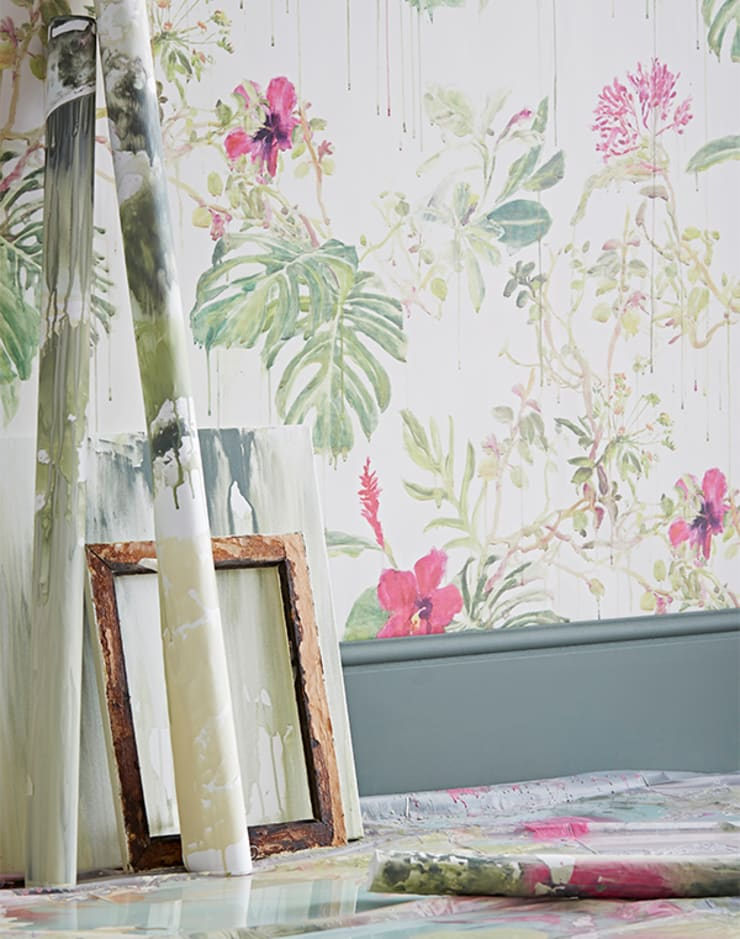 Spring Wild Rain :  Walls & flooring by Sian Zeng