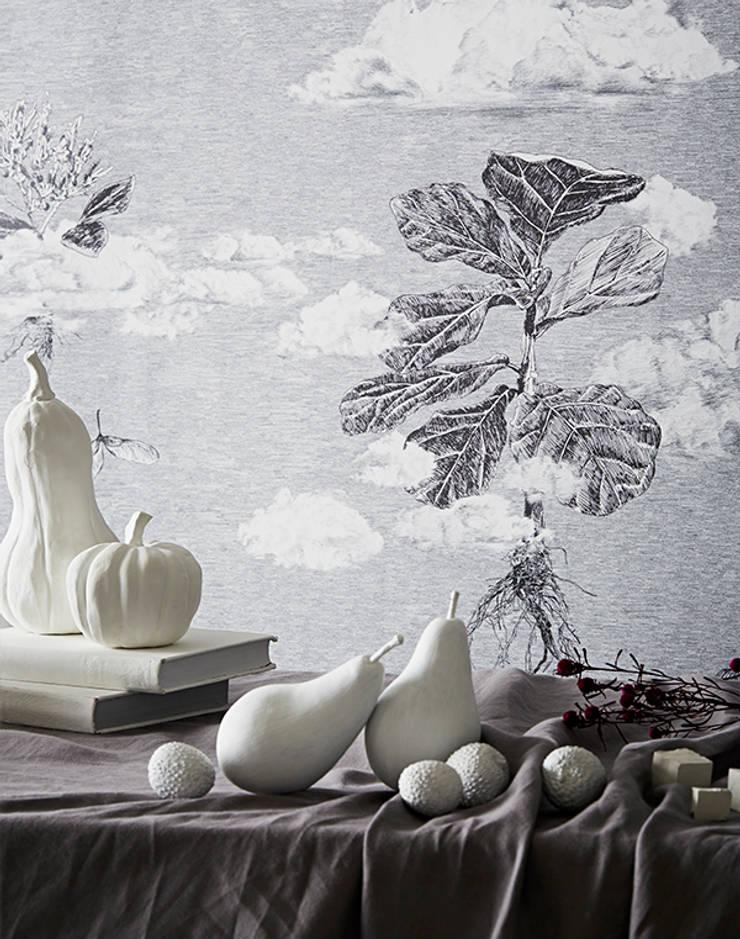 Autumn Cloud Forest:  Walls & flooring by Sian Zeng