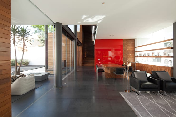 Dining room by Echauri Morales Arquitectos, Minimalist