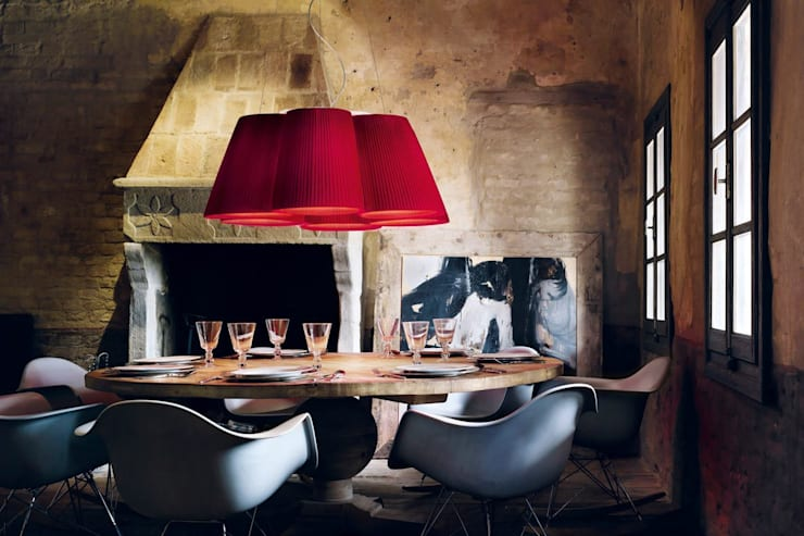 Florinda 6 : Sala da pranzo in stile in stile Moderno di STUDIO MATHESIS Art Design