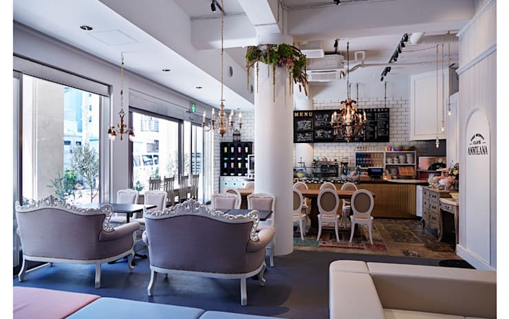INTERIOR/1: BaNANA OFFICE INC.が手掛けたレストランです。