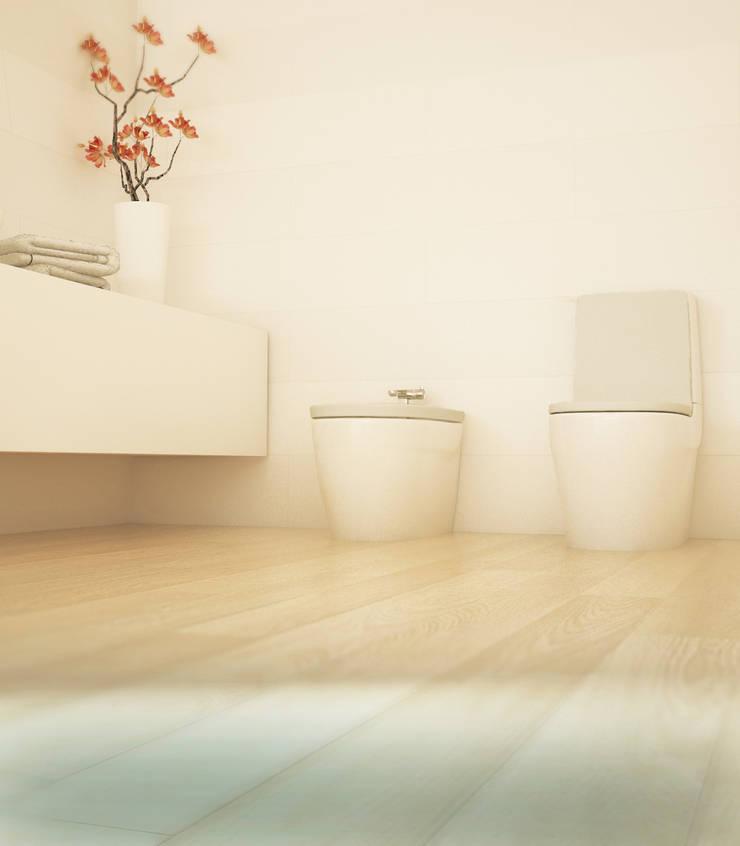 Projekt Wnętrza:  Łazienka Harmonia: styl , w kategorii Łazienka zaprojektowany przez Akuratnie