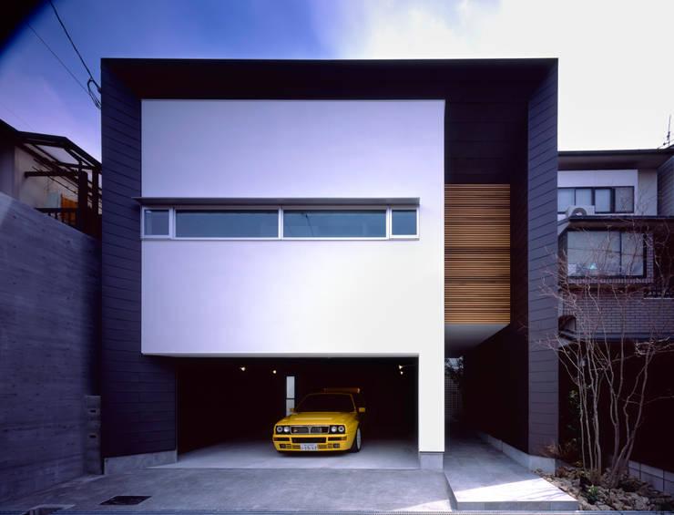 外観2:  井上久実設計室が手掛けた家です。