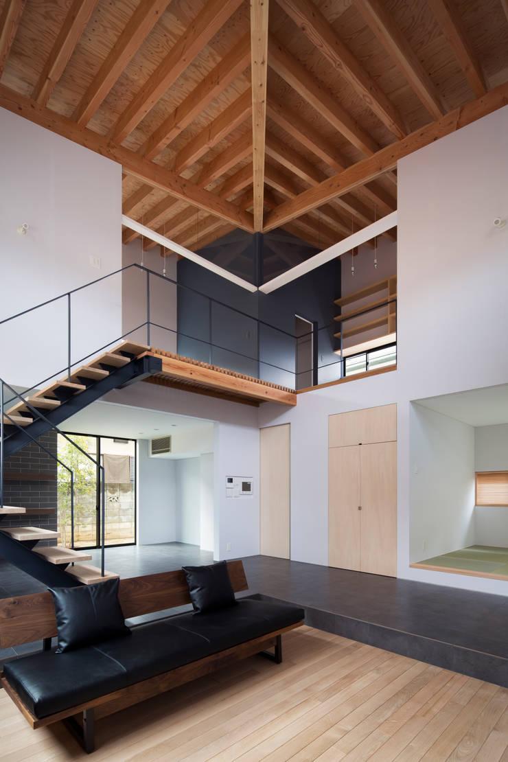 リビング2:  井上久実設計室が手掛けた和室です。