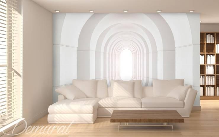 Tunel bez końca: styl , w kategorii  zaprojektowany przez Demural.pl,