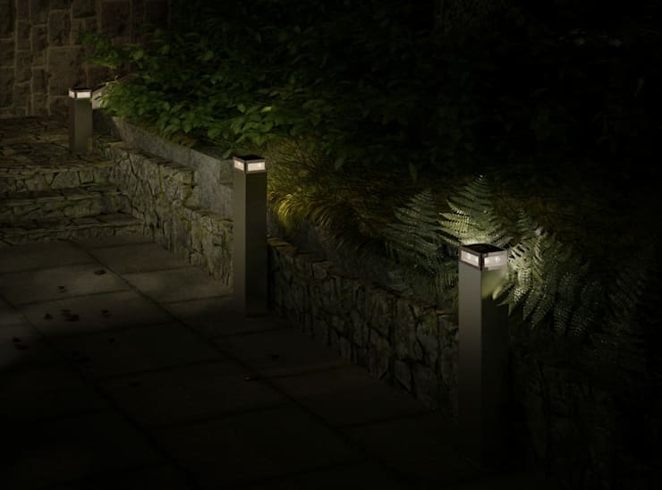 CATWALK No.3: styl , w kategorii  zaprojektowany przez SOLAR Lighting - Powered by Nature!
