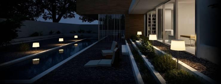INNOWACYJNE LAMPY SOLARNE: styl , w kategorii  zaprojektowany przez SOLAR Lighting - Powered by Nature!