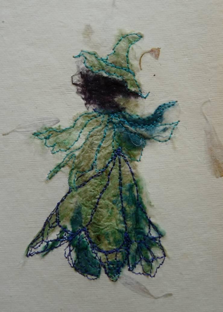Sprookjeskind in groen:   door Mariet Rankenberg, Rustiek & Brocante