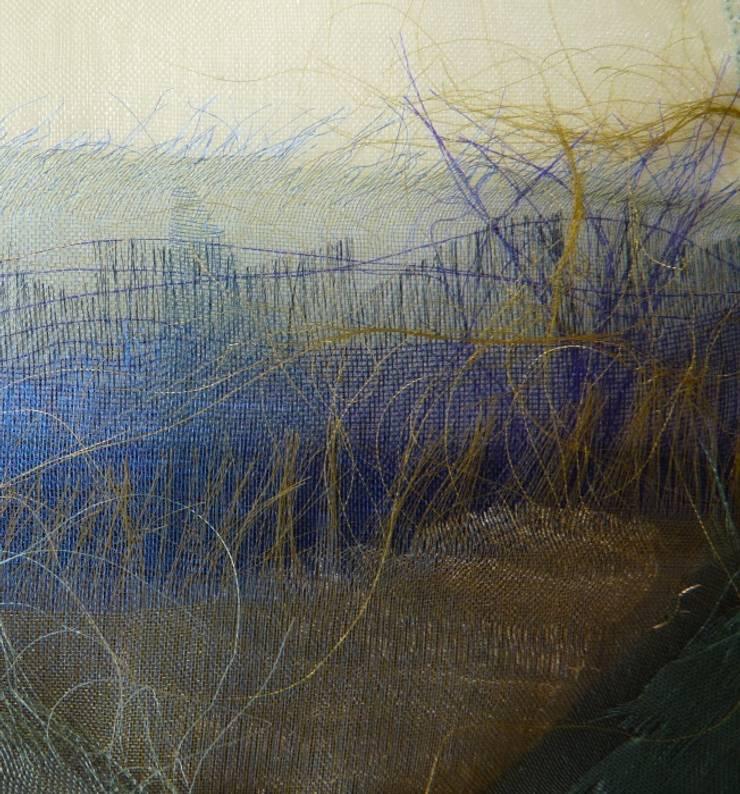 Gerafeld landschap:   door Mariet Rankenberg, Rustiek & Brocante