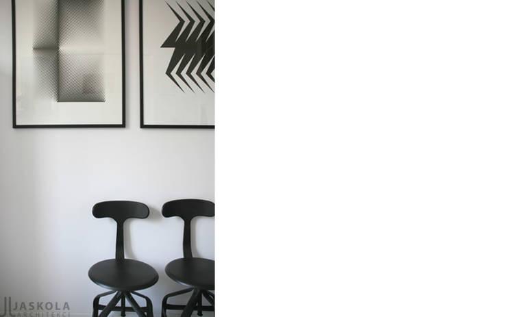 przy parku: styl , w kategorii Kuchnia zaprojektowany przez JJJASKOLA ARCHITEKCI