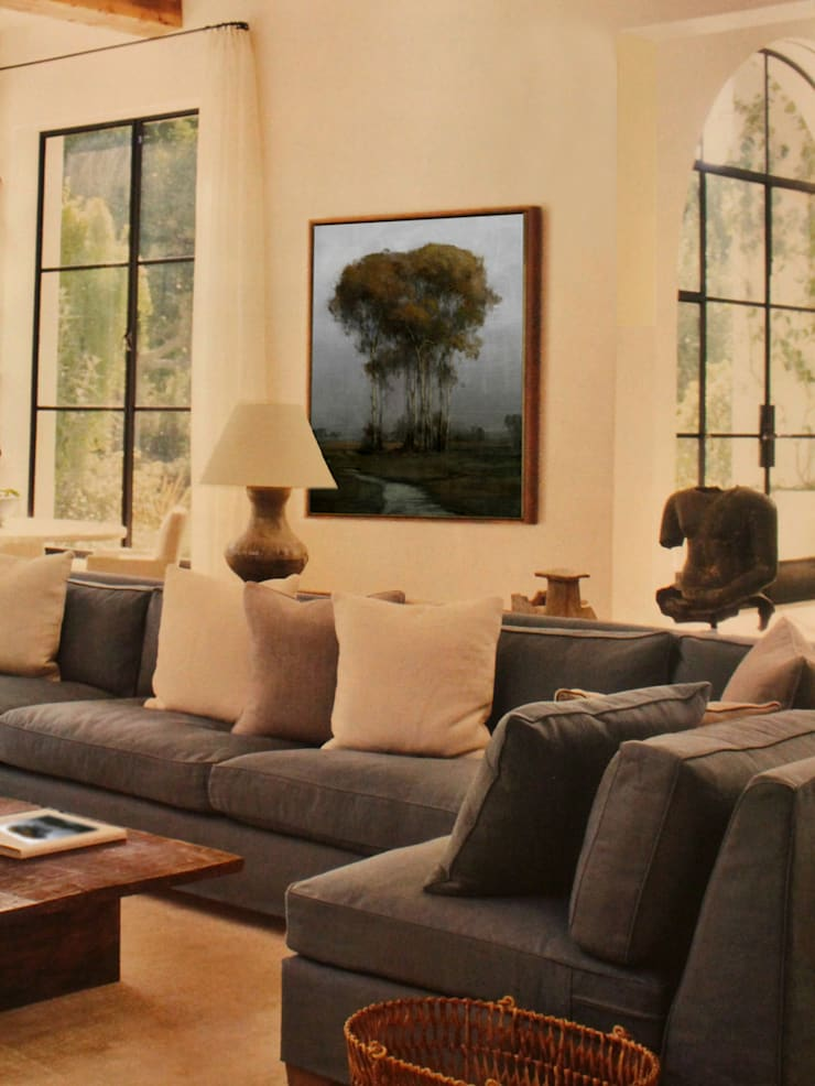 Parson County Room:  Living room by Opper & Webb Fine Art Dealers