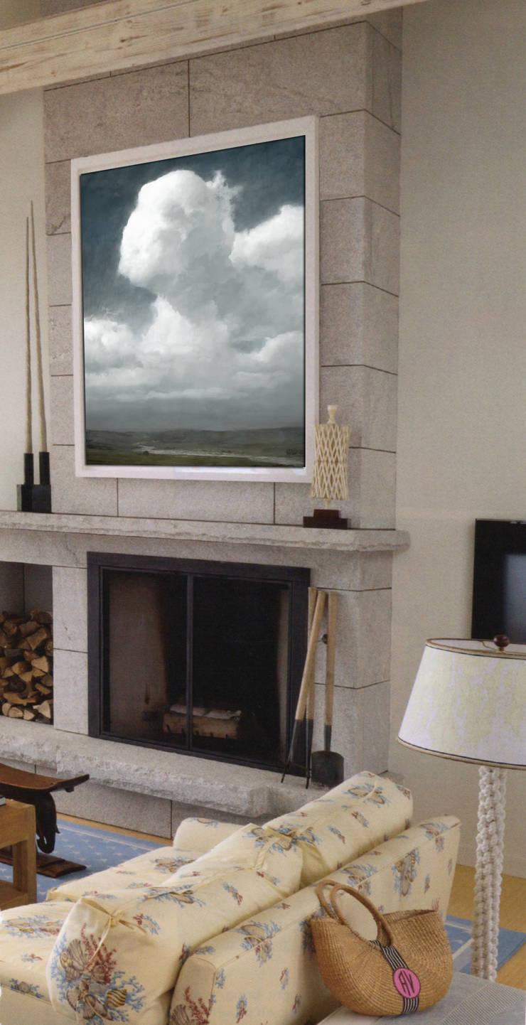 Berensen Room:  Living room by Opper & Webb Fine Art Dealers