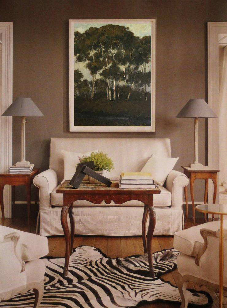 Napier Room:  Living room by Opper & Webb Fine Art Dealers