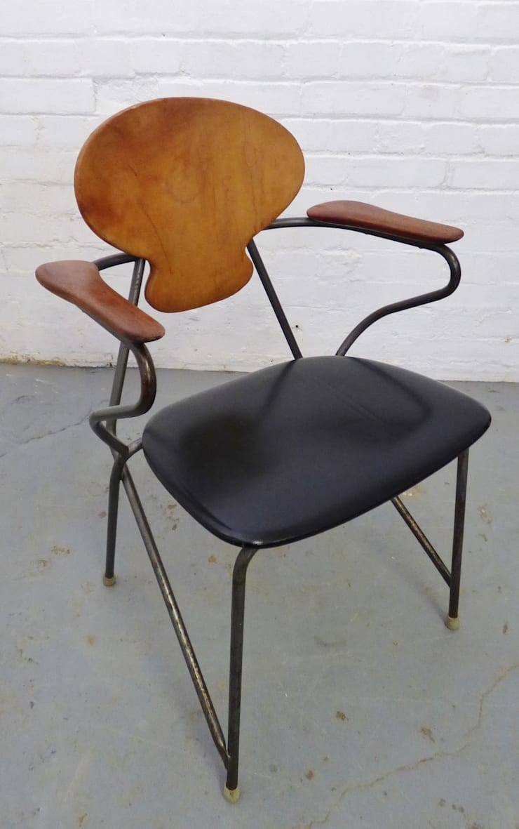 Mid-century Danish industrial desk chair :  Study/office by Archive Furniture