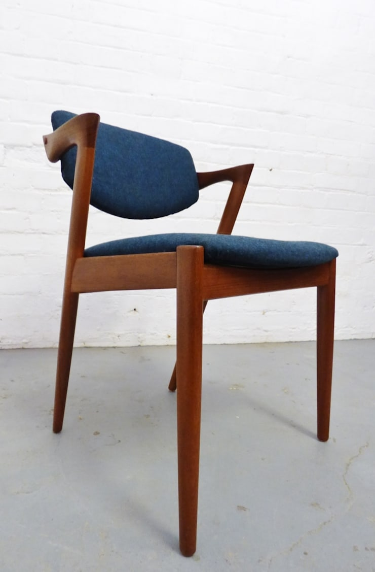 Danish teak desk chair by Kai Kristiansen :  Study/office by Archive Furniture