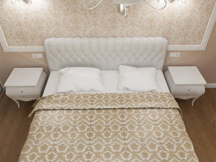 Квартира с акцентом: Спальни в . Автор – Дизайн студия Александра Скирды ВЕРСАЛЬПРОЕКТ, Классический