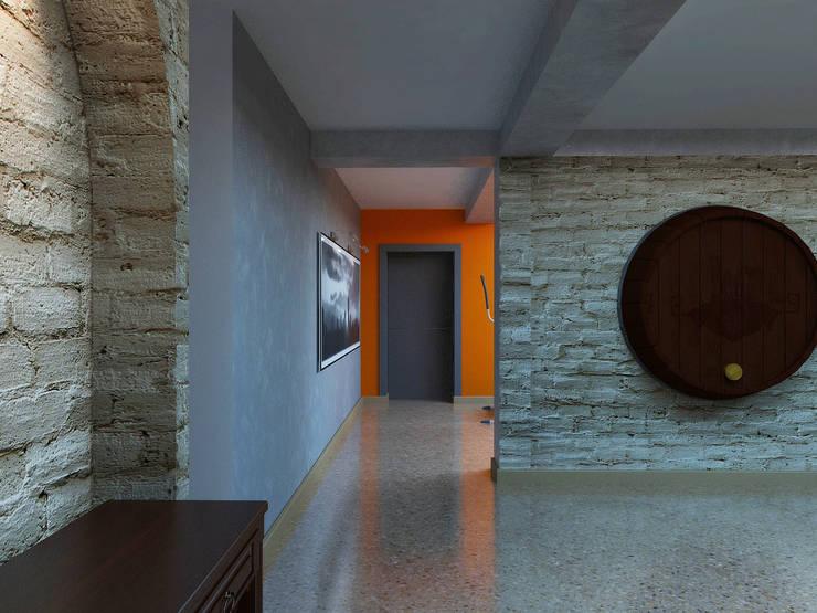 Просто дом: Винные погребы в . Автор – Дизайн студия Александра Скирды ВЕРСАЛЬПРОЕКТ