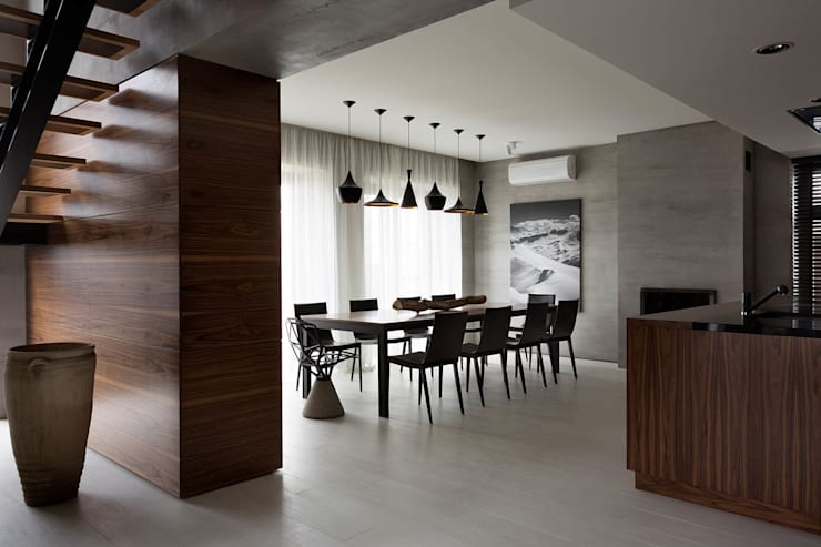 Столовые комнаты в . Автор – NOTT DESIGN STUDIO