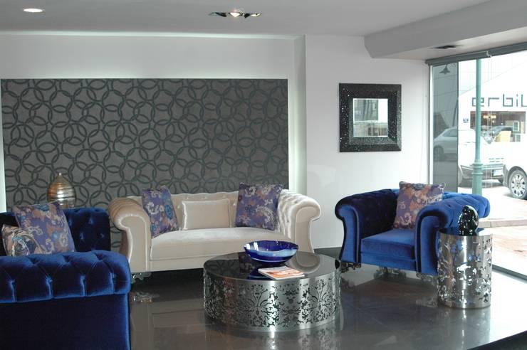 Bosart Mobilya Sanayi Ve Ticaret Ltd. Şti. – Fendi Oturma Grubu : klasik tarz tarz Oturma Odası