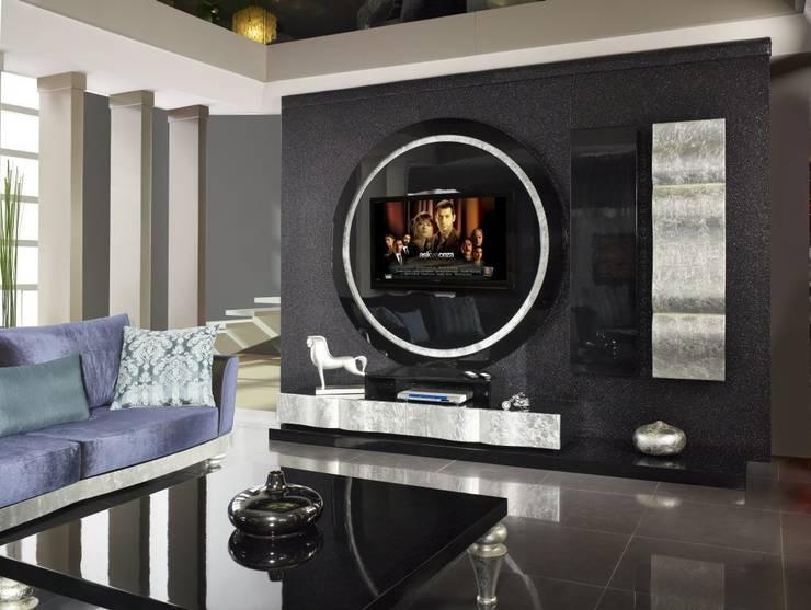 Bosart Mobilya Sanayi Ve Ticaret Ltd. Şti. – Santo  Tv  Ünitesi: rustik tarz tarz Oturma Odası