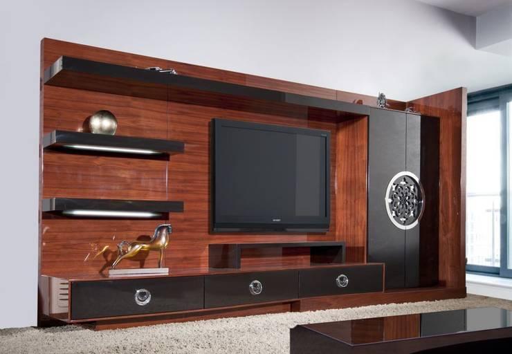 Bosart Mobilya Sanayi Ve Ticaret Ltd. Şti. – Cavalli  Tv  Ünitesi: modern tarz Oturma Odası
