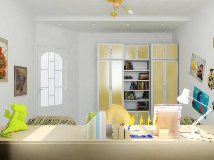 Преображение дома 1961 года : Детские комнаты в . Автор – Дизайн студия Александра Скирды ВЕРСАЛЬПРОЕКТ