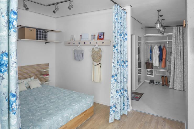 Dormitorios de estilo escandinavo de SAZONOVA group