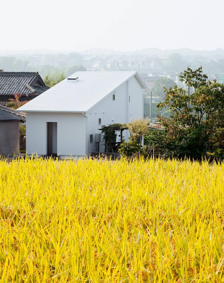 押部谷の家 外観: 株式会社seki.designが手掛けた家です。
