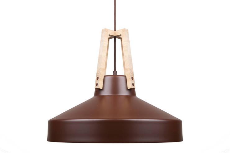 Work brąz- czekolda: styl , w kategorii Domowe biuro i gabinet zaprojektowany przez LoftYou