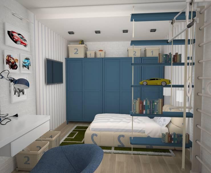 Квартира холостяка:  в . Автор – DS Fresco