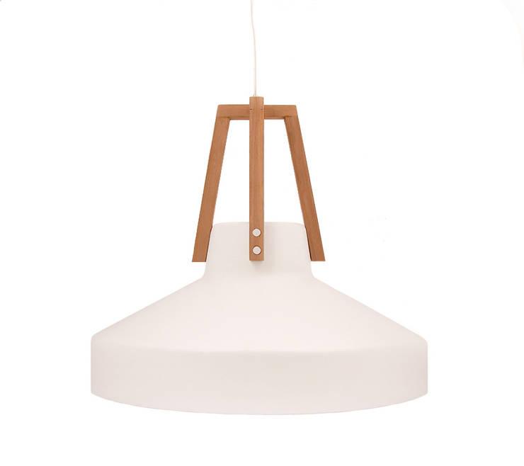Biały Work w całej okazałości: styl , w kategorii Domowe biuro i gabinet zaprojektowany przez LoftYou,Skandynawski