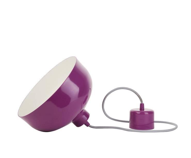 Lampa B&B fiolet: styl , w kategorii Domowe biuro i gabinet zaprojektowany przez LoftYou