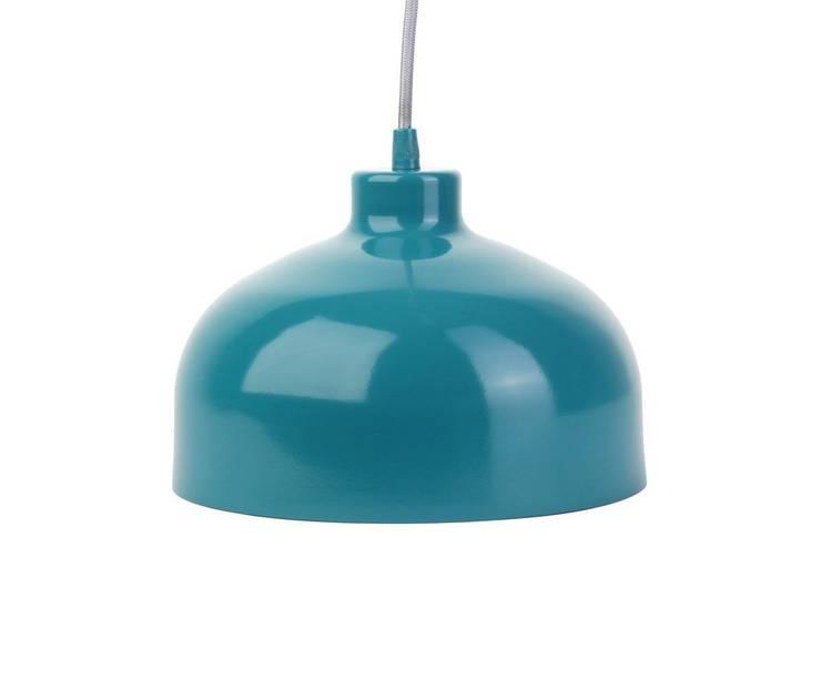 Lampa B&B turkus: styl , w kategorii Domowe biuro i gabinet zaprojektowany przez LoftYou