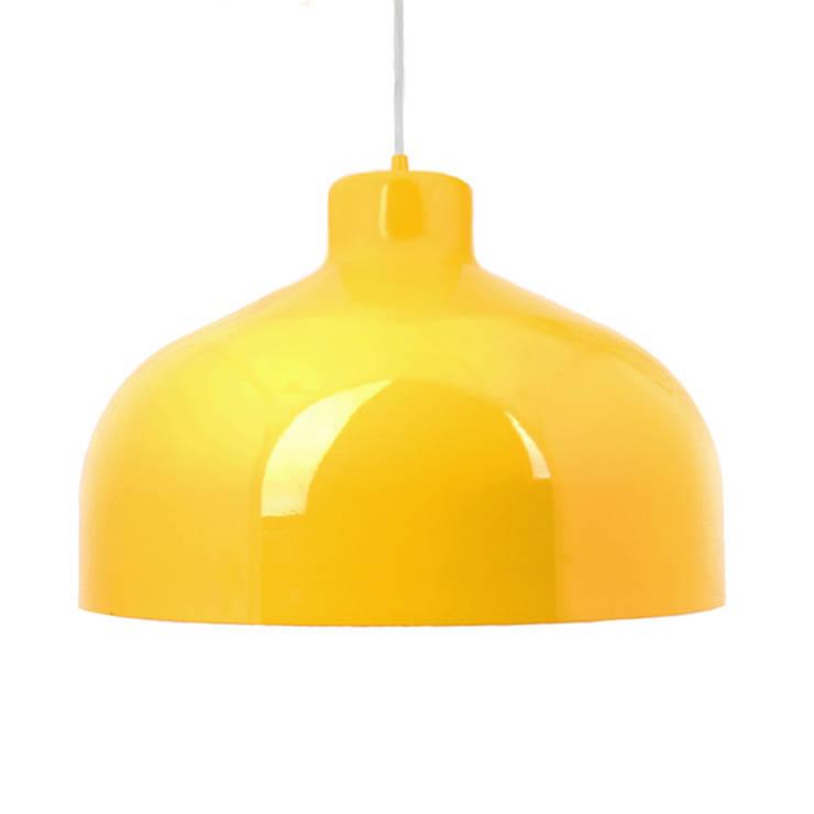 Lampa B&B żołta: styl , w kategorii Domowe biuro i gabinet zaprojektowany przez LoftYou