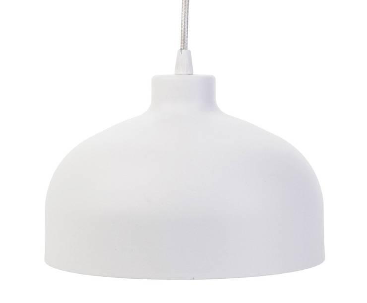 Lampa B&B biała: styl , w kategorii Domowe biuro i gabinet zaprojektowany przez LoftYou
